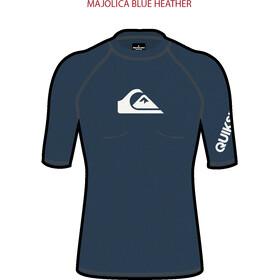 Quiksilver All Time SS Shirt Men, majolica blue heather